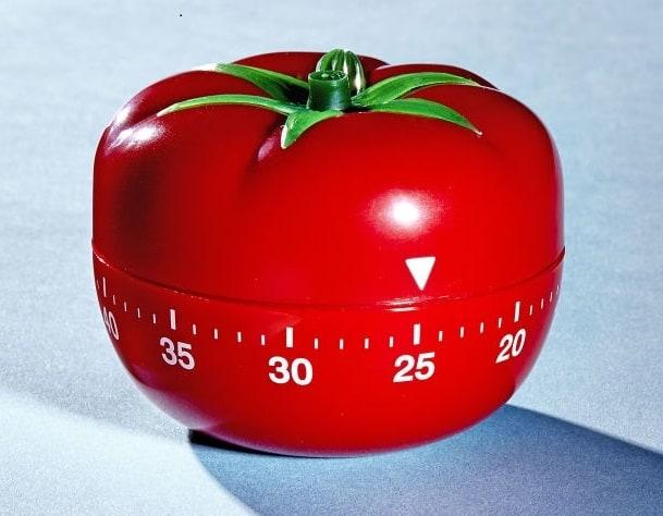 Chiếc đồng hồ quả cà chua Pomodoro của Francesco Cirillo