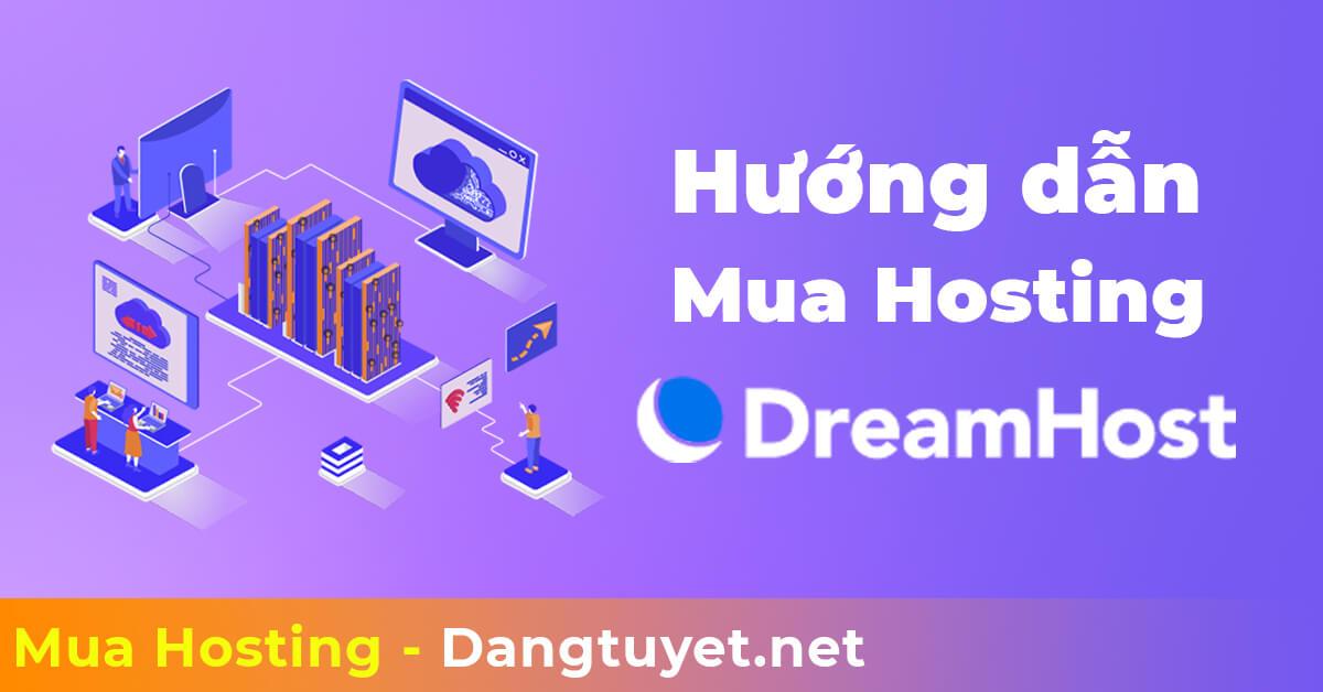 đăng ký hosting dreamhost